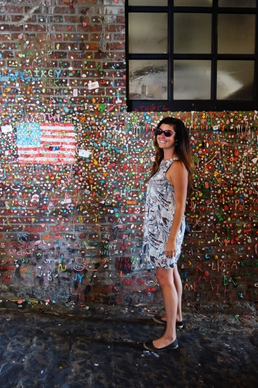 kristin at gum wall (1 of 1)